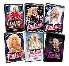 RuPaul's Drag Race Series / All Stars Complete Seasons 2 3 4 5 6 DVD Set(s) NEW!