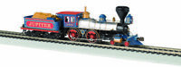 BACHMANN 51003 HO Central Pacific 4-4-0 American Steam Loco w/Wood Load DC