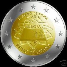 """SPANJE: SPECIALE 2 EURO 2007  """"VERDRAG VAN ROME"""""""