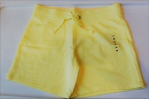 NEW Yellow JUSTICE Shorts Size 14 NWT