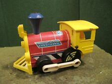 1964 Fisher Price Toot Toot Train Engine Pull Along Toy #643 Vintage Classic USA