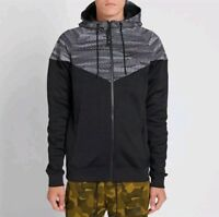 NIKE MEN'S AIR HYBRID WINDRUNNER FULL ZIP HOODIE SIZE XL 805138-011 RETAIL $110