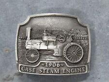 Vintage J.I. CASE 1906 Steam Engine Tractor BELT BUCKLE Limited Edition