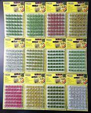 NOCH Grasbüschel XL, 42 Stück, 07022,-24,-25,-26,-27,-28,-32,-34,-35,-36,-37,-38