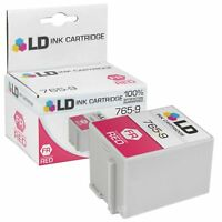 LD Compatible Pitney Bowes 765-9 Red Ink Cartridge