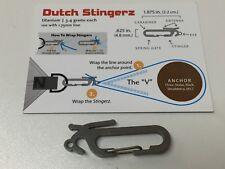 Dutchwear Gear Bling - Dutch Titanium Stingerz  - 3.4gr each Hammock, Hiking