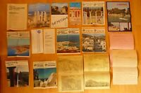 Konvolut alte Reiseprospekte Prospekt Reise Griechenland ca. 1970 -1980