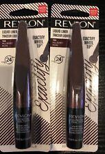 2 Revlon Exactify Liquid Eyeliner #103 MULBERRY New Sealed