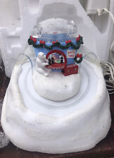 Dept 56 Coca-Cola Sliding Hill~North Pole Series 2003 Polar Bears Christmas