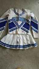 Cheerleader Uniform Bottom Size 38 M Blue and White