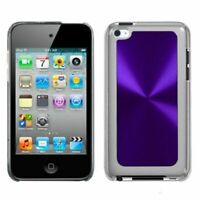 Durable Purple ANIMAL PAW MP3 Player Case Earphone Case Cover Holder with Metal Carabiner Clip for Apple iPod Nano 7th Generation Clamshell Case