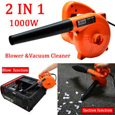 1000W Electric Air Blower Hand Operated Car Computer acuum Dust Cleaner