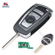 Modify Replacement Flip Key for BMW E46 E39 Remote Key Fob- CAS2 - 433Mhz - HU92