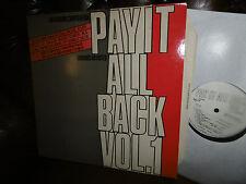 Pay It All Back Vol.1, VA, Dub Syndicate, African Head Charge, Akabu LP REGGAE