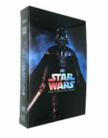 Star Wars: The Complete Saga 1-6  (DVD Disc, 2011, 9-Disc Set) Free Shipping
