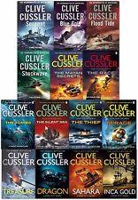 Clive Cussler 14 Books Collection Set Dirk Pitt Series Dragon, Treasure, Inca Go