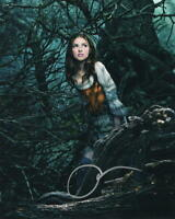 ANNA KENDRICK SIGNED 8X10 PHOTO AUTOGRAPH PITCH PERFECT INTO THE WOODS COA D