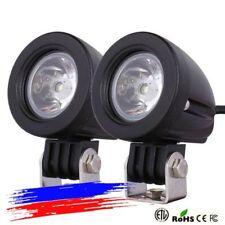 2PEZZI Moto LED Faretti LED CREE CON STAFFETTE PER TUBOLARE bmw gs1200 f800 ADV