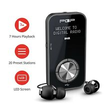 Portable Pocket DAB+ FM Radio Personal Rechargeable