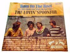 Lovin' Spoonful Rain On The Roof b/w Pow 1966 Kama Sutra KA-216 45rpm 1st  PS VG