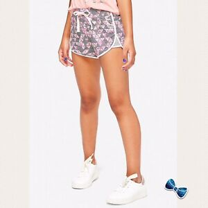 Justice Girls Size 10 Sport Dolphin  Mesh Shorts New With Tags