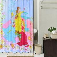 Landscape Bridge Design Modern Bathroom Fabric Polyester Shower Curtain 2s220