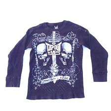 Tapout MPS Mens Sweater Size M Cotton Sweatshirt Fighter MMA Skull Graphic
