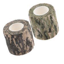 2pcs Camo Cloth Tape Roll Hunting Camouflage Wrap Gun Bow Shealth Cover New