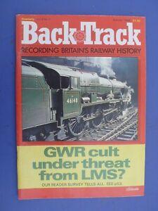 Back Track Magazine - Summer 1988 issue - Vol.2 No.2