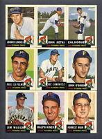 1953 Topps Baseball REPRINT 1991 Archives Pittsburgh Pirates TEAM SET