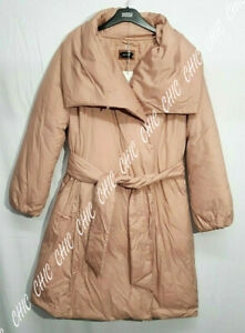 Marks & Spencer Per Una Shawl Collar Supersoft Duvet Coat Size 14 & 16 RRP £99