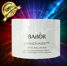Babor Skinovage Vita Balance Argan Nourishing Cream 200ml 6.7oz)SEALED EXP 12/19
