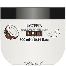 Nourishing Body Butter 300ml 100% Organic Coconut Essential Care Byotea ® Burro
