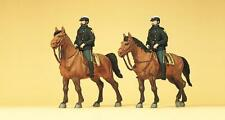 Preiser 10397 Police on horseback. USA, H0 1:87