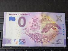 BILLET EURO SOUVENIR 2021-2 SLOVAQUIE LEGENDA O CYPRIANOVI