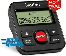 Ivation Call Blocker for Landline Phones - Stop Scams, Robocalls. NEW