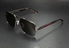 GUCCI GG0529S 002 Aviator Ruthenium Havana Crystal Brown 60 mm Men's Sunglasses