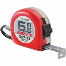 8 m x 25 mm Tajima G5P80MY G-Lock Measuring Tape Black//Yellow