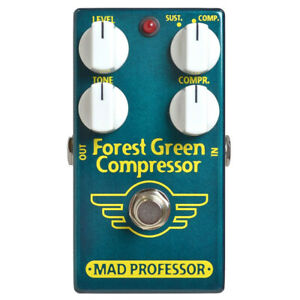 Mad Professor PCB Forest Green Compressor Guitar Effects Pedal