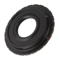 C Mount Lens to Canon EOS EF EF-S DSLR Camera Adapter For 650D 750D 760D 1200D