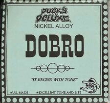 Dr. Duck's Dobro/Resonator Guitar Strings, Nickel Alloy, Round Wound, .016-.056