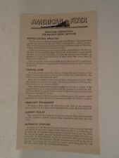Original American Flyer #M3642 Instructions For Baldwin Diesel Switcher Mint