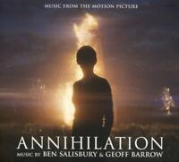 Ben Salisbury & Geoff Barrow Annihilation (2018) 18-track CD Album Neu/Verpackt
