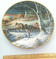 """Terry Redlin """"Almost Home"""" #5554 Collector Plate"""