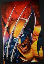 Wolverine Signed Greg Horn Print