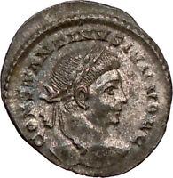 CONSTANTINE II Constantine the Great sonLONDON  Ancient Roman Coin Wreath i20971