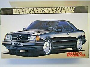 Fujimi 1:24 Scale 1987 Mercedes Benz 300CE SL Grille Model Kit New - Kit # 12248