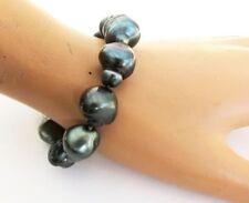 Bracciali di lusso perle nere