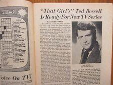 Feb. 7, 1971 Lancaster Pa TV Week Maga(TED BESSELL/JOSEPH LEISCH JR/MICHAEL LINK