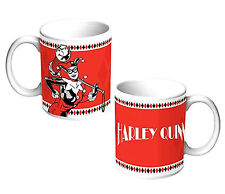 DC Comics Batman Series Harley Quinn Coffee Mug - 11oz Ceramic Dishwasher Safe